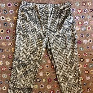 2 for 1!  Brocade Cropped Pants